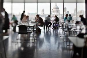 Tate Gallery Restaurant Interior by Felipe Rodriguez