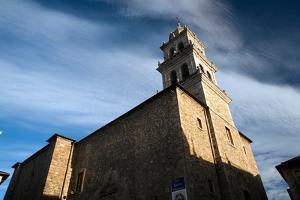 Templar Castle, Town of Ponferrada in Spain by Felipe Rodriguez