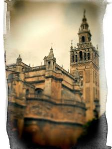 The Giralda Tower and the Cathedral (South-East View), Seville, Spain by Felipe Rodriguez