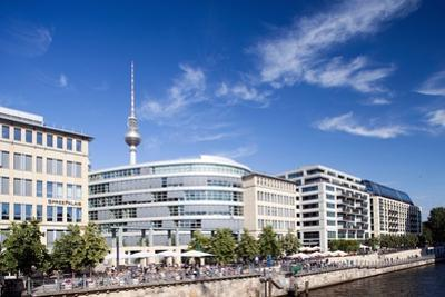 Urban City Scene in Berlin, Germany by Felipe Rodriguez