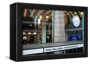 Volkswagen Store on Unter Den Linden Street, Berlin, Germany by Felipe Rodriguez