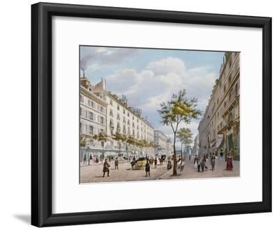 The Boulevard Des Italiens, C.1840