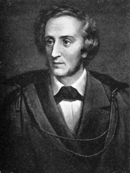 Felix Mendelssohn, (1809-1847), German composer, 1909. Artist: Unknown-Unknown-Giclee Print
