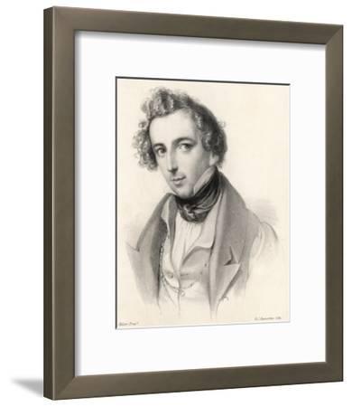 Felix Mendelssohn as a Young Man