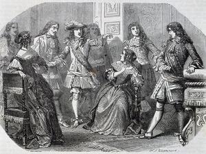 Arrest of Nicolas Fouquet Superintendent of Finance by Felix Philippoteaux