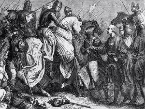 Henry III at the Battle of Lewes, 14th May 1264 by Felix Philippoteaux
