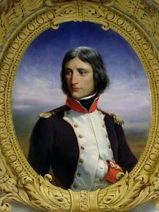 Napoleon Bonaparte (1769-1821) as Lieutenant Colonel of the 1st Battalion of Corsica, 1834 by Felix Philippoteaux