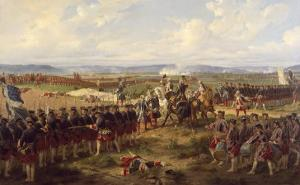 The Battle of Fontenoy, c.1745 by Felix Philippoteaux