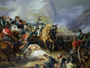 The Battle of Rivoli, 1844 by Felix Philippoteaux