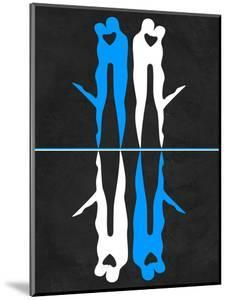 Blue and White Kiss by Felix Podgurski