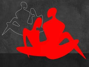 Red Couple 3 by Felix Podgurski