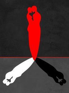 Red Kiss Shadow by Felix Podgurski