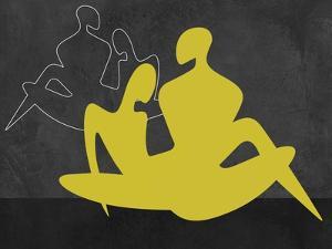 Yellow Couple by Felix Podgurski
