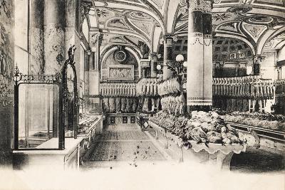 Felix Potin Butcher'S, 95-97 Boulevard Sebastopol, Paris, 1900--Giclee Print
