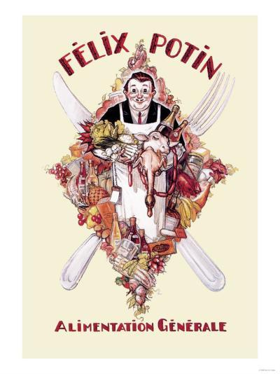 Felix Potin--Art Print