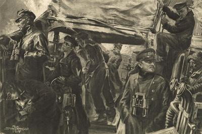 On the Bridge of a Torpedo Boat During the Night Reconnaisance