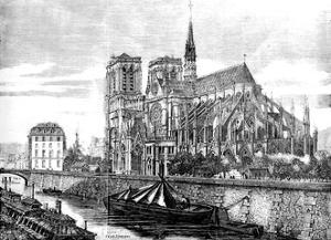 Paris, France - Notre-Dame by Felix Thorigny