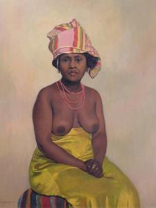 African Woman, 1910 by Félix Vallotton