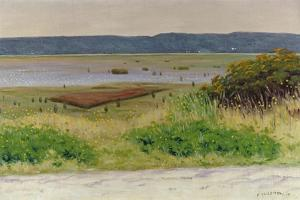 Bay Near Honfleur, 1915 by Felix Vallotton
