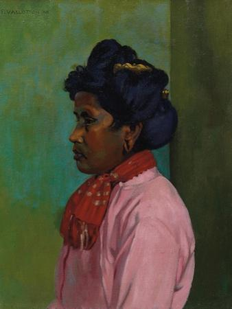 Black Woman with Pink Blouse, 1910 by Félix Vallotton