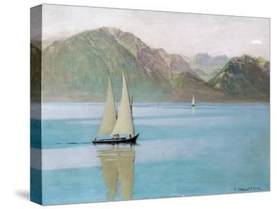 Boat on Lake Geneva, 1892
