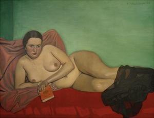 Female Nude Reclining by Félix Vallotton