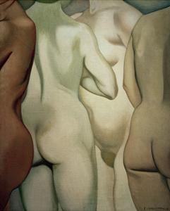Four Torsi by Félix Vallotton