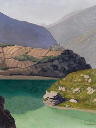 Lake Geronde, Sierre, 1919