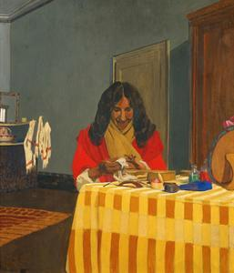 Madame Félix Vallotton by Félix Vallotton