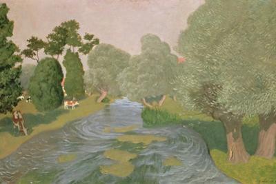 Normandy Landscape, 1903 by Félix Vallotton