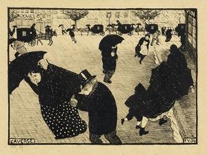 Paris Intense, 1893-94 by Félix Vallotton