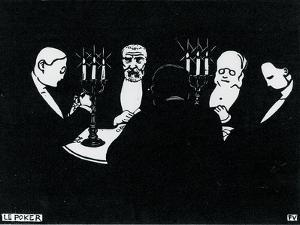 Poker, 1896 by Félix Vallotton