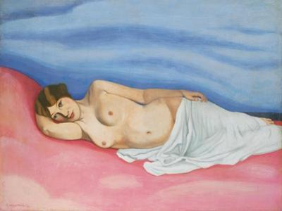 Reclining Female Nude, 1913