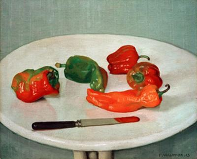 Red Peppers by Félix Vallotton