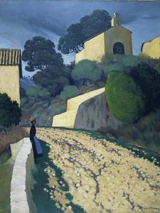 Road at St Paul (Var) by Félix Vallotton
