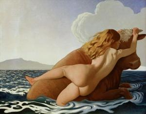 The Abduction of Europa by Félix Vallotton