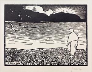 The Beautiful Evening by Félix Vallotton