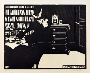 The Cogent Reason by Félix Vallotton