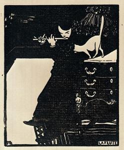 The Flute, 1896 by Félix Vallotton