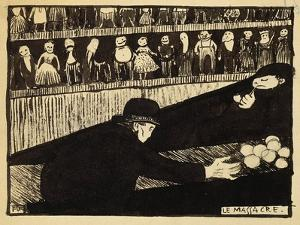 The Massacre by Félix Vallotton