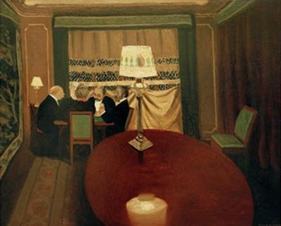 The Poker Game by Félix Vallotton