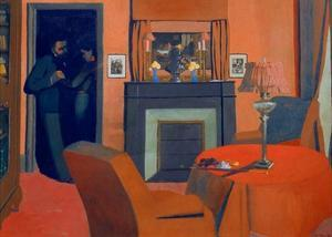 The Red Room by Félix Vallotton