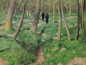 Undergrowth in Spring, 1923 by Félix Vallotton