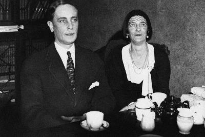 Felix Yusupov and His Wife, Princess Irina Alexandrovna of Russia, 1932--Giclee Print