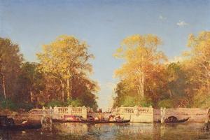 A View in Venice by Felix Ziem