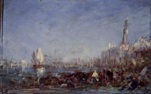 Venise by Félix Ziem