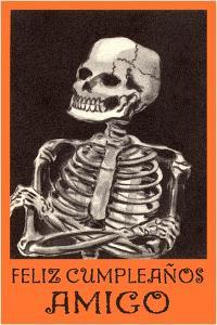 Feliz Cumpleanos, Skeleton