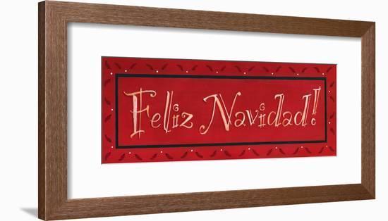 Feliz Navidad-Stephanie Marrott-Framed Art Print