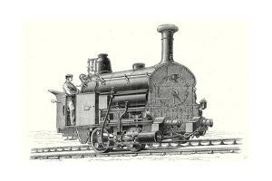 Fell's Locomotive for the 'Rail Central' Railway