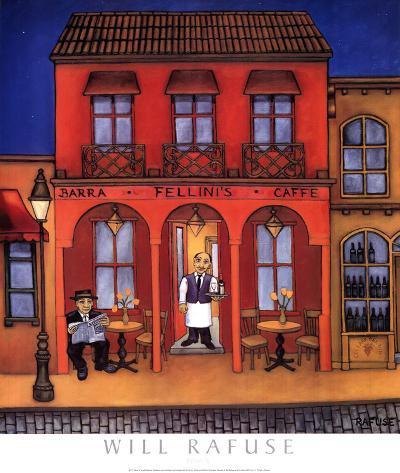 Fellini's-Will Rafuse-Art Print